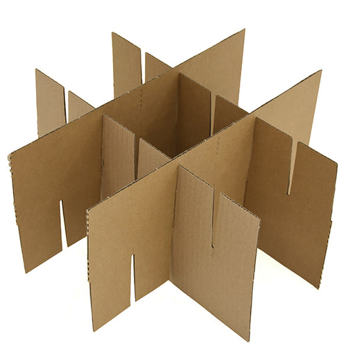 Cardboard Dividers for Glasses, Bottles or Ornaments in Peterborough Box Shop