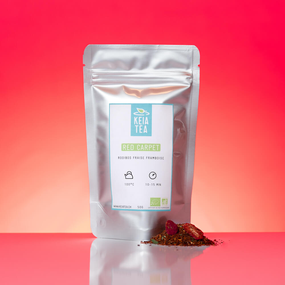 Red Carpet - Infusion rooibos, fraise et framboise-Keia Tea