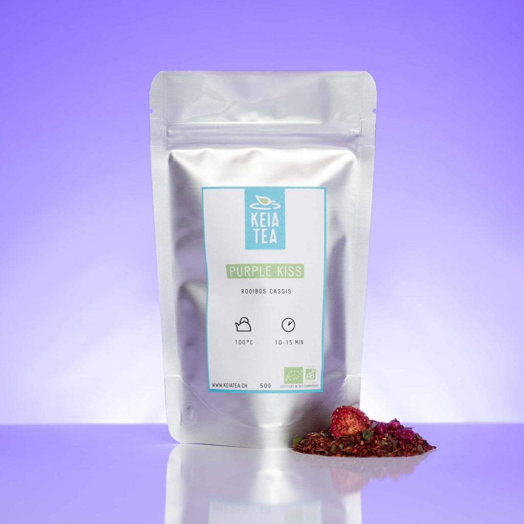Purple Kiss - Infusion rooibos et cassis-Keia Tea
