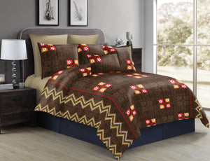 Proshin Prints Jumbo Bedsheets With 2 Pillow Cover