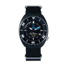 Load image into Gallery viewer, Gyre SeaCleaner 'Blue Marine' - black NATO