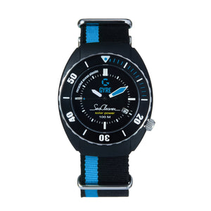 Gyre SeaCleaner 'Blue Marine' - striped NATO