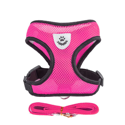 Adjustable Breathable Dog Harness - Posh Pooch Accessories