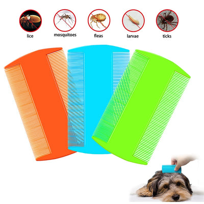 3pcs Dog Comb Grooming Deshedding Pet Comb Cat - Posh Pooch Accessories