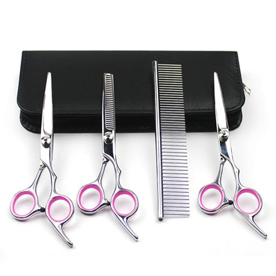 Dog Hair Scissors Pet Grooming Set Scissors For - Posh Pooch Accessories