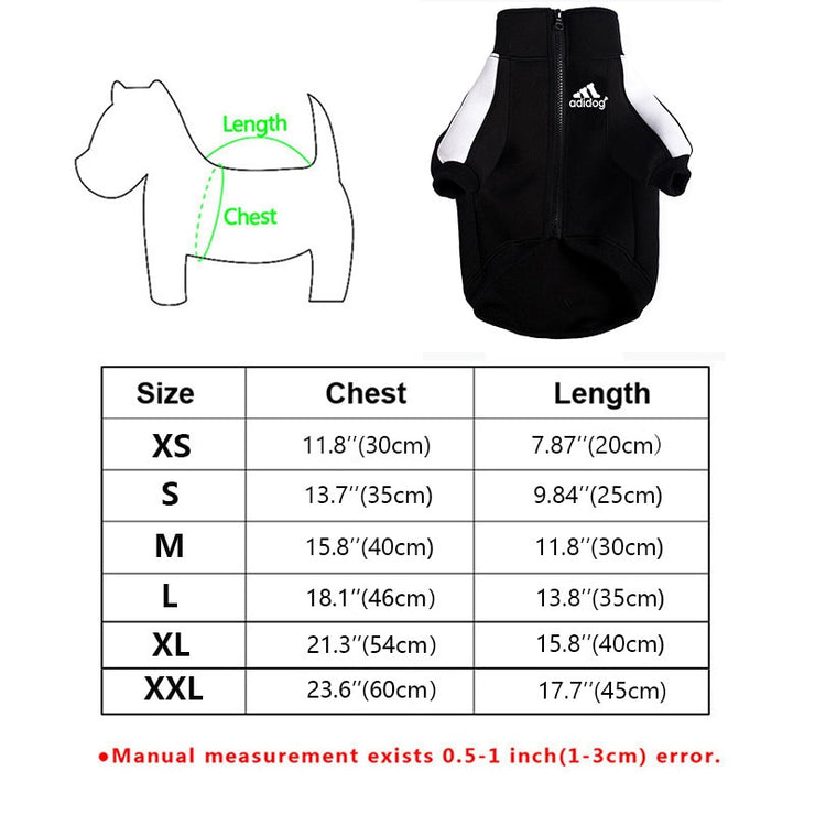 Fashion Dog Hoodie Winter Pet Dog Clothes For Dogs Coat Jacket Cotton - Posh Pooch Accessories