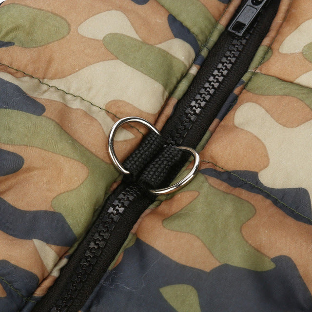 Camouflage Vest - Posh Pooch Accessories