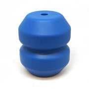 Double Trouble Durable Rubber Chew Toy with a Treat Dispenser - Posh Pooch Accessories