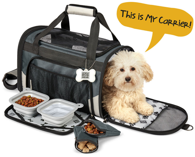 Mobile Dog Gear Pet Carrier Plus - Posh Pooch Accessories