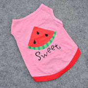 Designer Watermelon T-Shirt - Posh Pooch Accessories