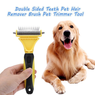 Pet Grooming Tool Pet Hair Remover Brush Dog & Cat - Posh Pooch Accessories
