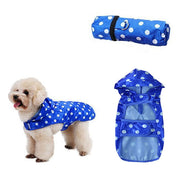 Portable Fashion Dog Raincoat Waterproof Hooded - Posh Pooch Accessories
