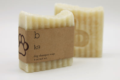 K9 Dog Shampoo Bar - Unscented - Posh Pooch Accessories