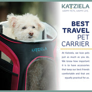 Katziela  Airline Approved Backpack for Pets - Posh Pooch Accessories