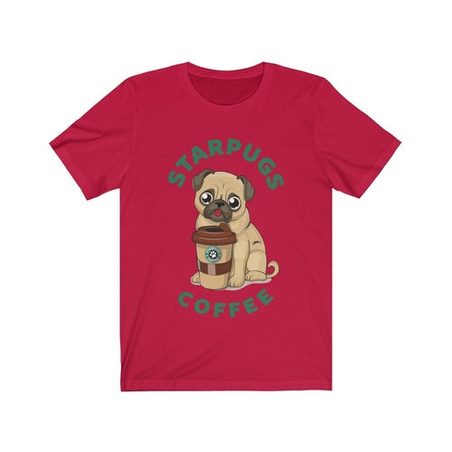Pug Loves Coffee Shirt - Posh Pooch Accessories