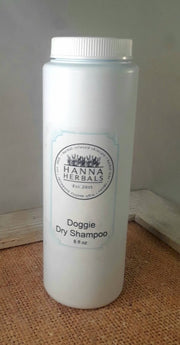 Doggie dry Shampoo - 8 ounce - Dry Dog Shampoo - - Posh Pooch Accessories