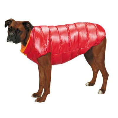 Red Puffy Pet Vest - Posh Pooch Accessories