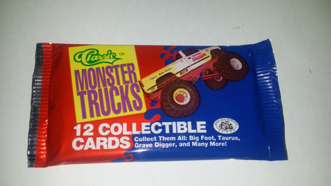 1990 Classic Monster Truck Trading Cards Pack.