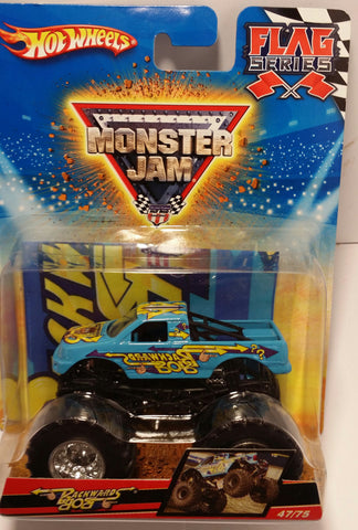 Backwards Bob 2009 Flag Series Monster Jam Truck