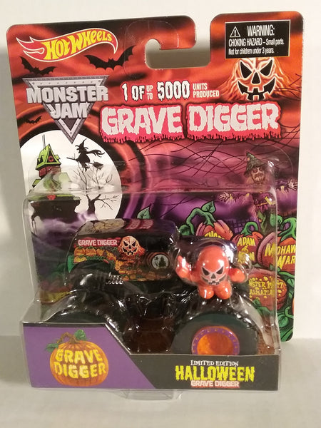 Grave Digger Halloween Limited Edition. 1 of 5000 produced. 1/64 Mint in Package