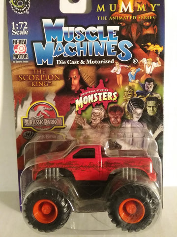 Bigfoot Jurassic Park Muscle Machines 1/72 scale New in Package