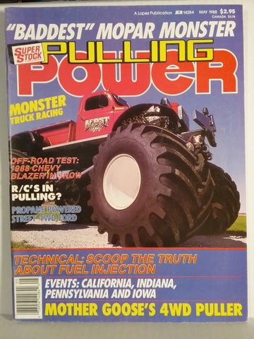 1988 Pulling Power Magazine with Beast Monster Truck