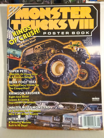 1988 Monster Trucks Vol. 8 Poster Book/Magazine