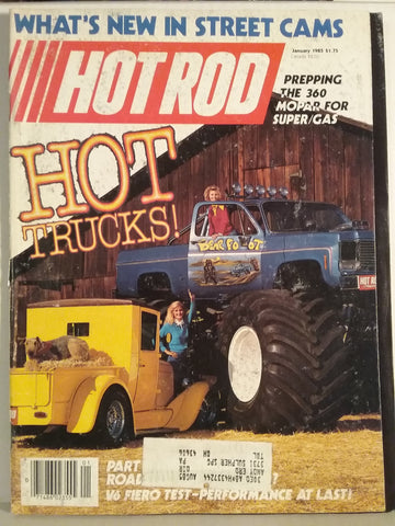 1985 Hot Rod Magazine with BearFoot.