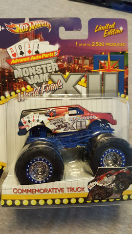 2011 World Finals12 Autographed Exclusive Monster Truck  1/64 (New in Package). Limited Edition of only 2,500 made.