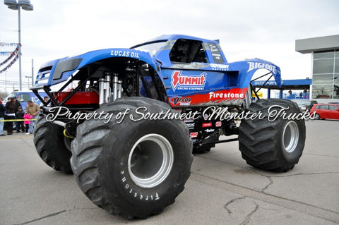 Bigfoot (Summit) Monster Truck Photo or Poster