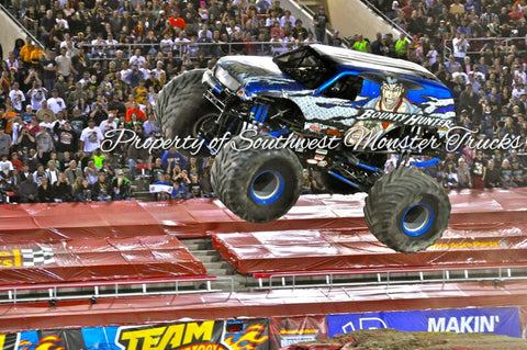 Bounty Hunter (Air) Monster Truck Photo or Poster