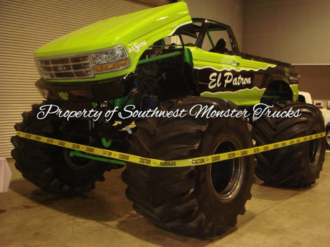 El Patron Monster Truck Photo or Poster