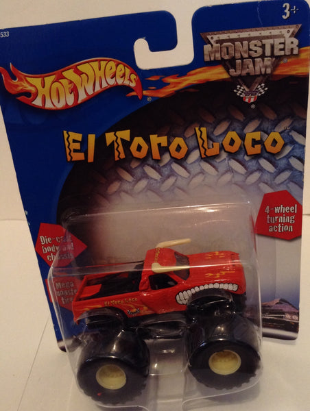 El Torro Loco (Vintage) 2002 Metal Small Hub Monster Truck (Mint and New in Package)