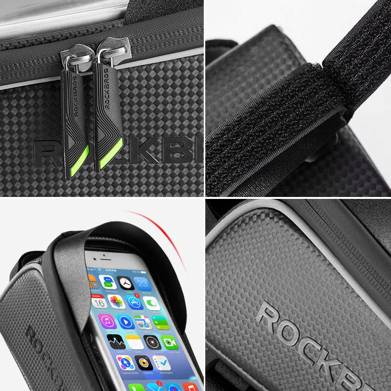 ROCKBROS™- UNIVERSAL PHONE TOP TUBE FRAME BAG