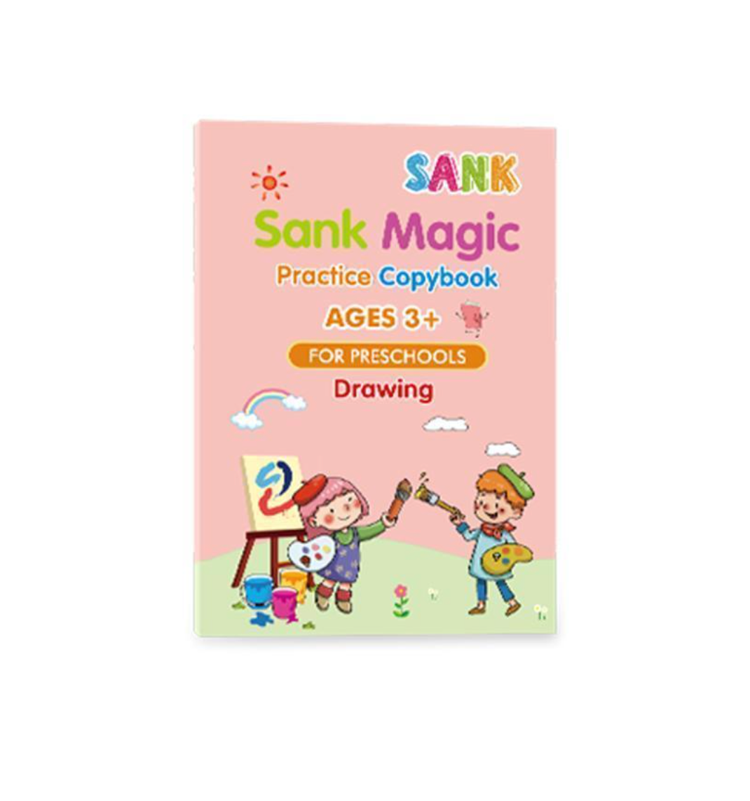 MAGIC PRACTICE COPYBOOK (4 PACK) WITH PEN