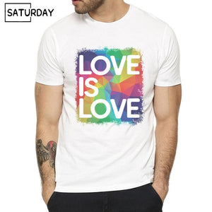 Love  Rainbow T-shirts for Man and Women
