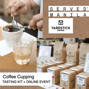 August 29 - 3PM Coffee Cupping & Tasting Kit + Online Event