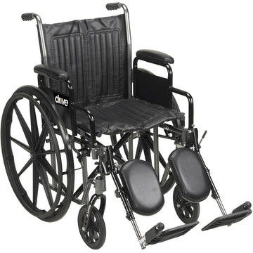 "SILVER SPORT 2 WHEELCHAIR ,SILVER VEIN,16"",DETACHABLE DESK ARM,SWING-AWAY FOOTRESTS."