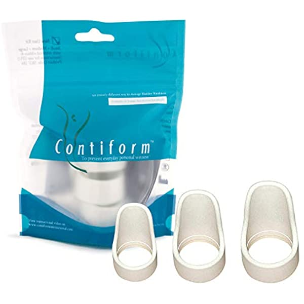 Contiform® Pessary 3 Size Kit *BONUS GIFT* - ActivKare Pessary for women suffering from bladder leaks, stress incontinence and urge incontinence