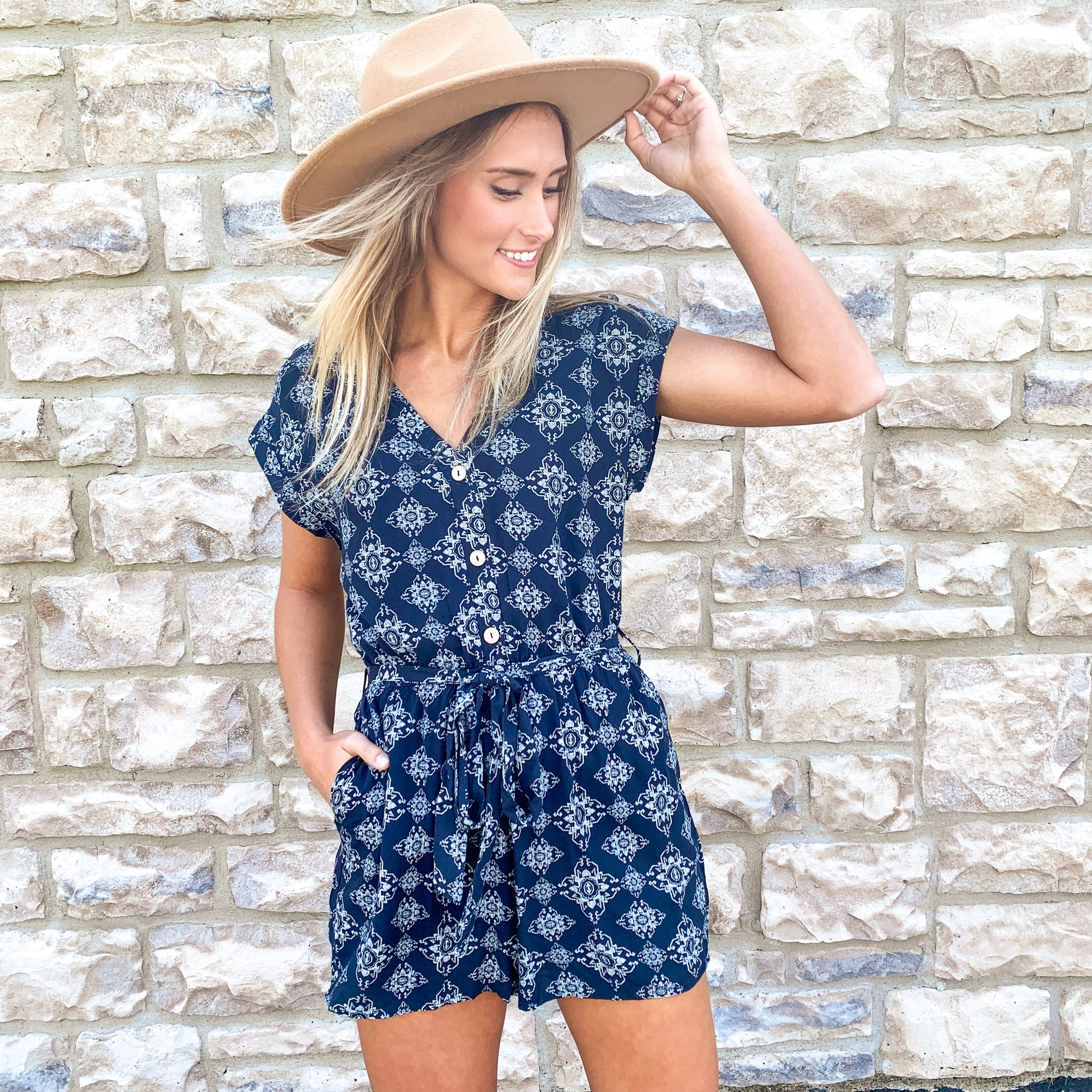 """The Evelyn"" Romper"