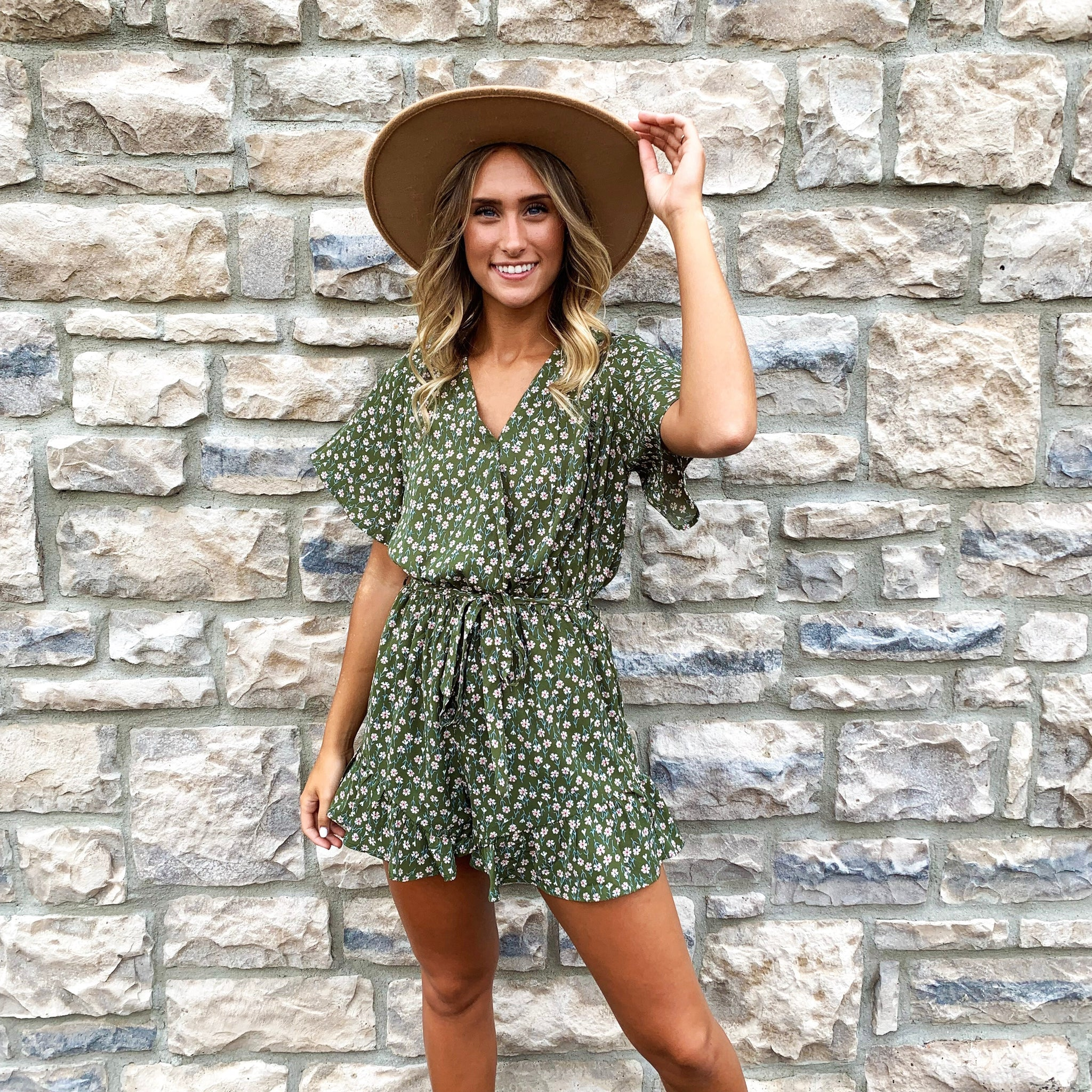 """The Sasha"" Romper"