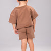 IVY SIGNATURE SHORTS SET [TAN]