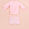 IVY PINK SHORTS SET [PINK]