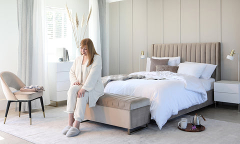 Bring comfortable and contemporary style to your bedroom