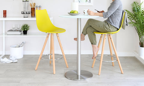 Create a simple and fresh look without the big price tag with the Finn