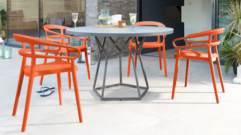 Porto Dining Table & Alma Dining Chairs