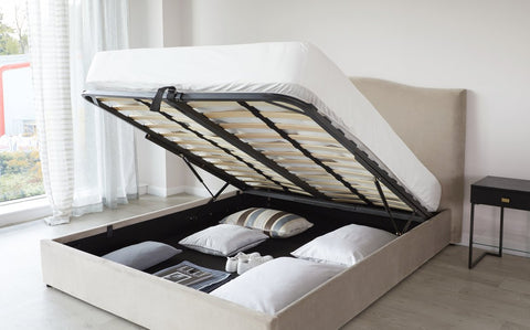 Easy access storage within the beds