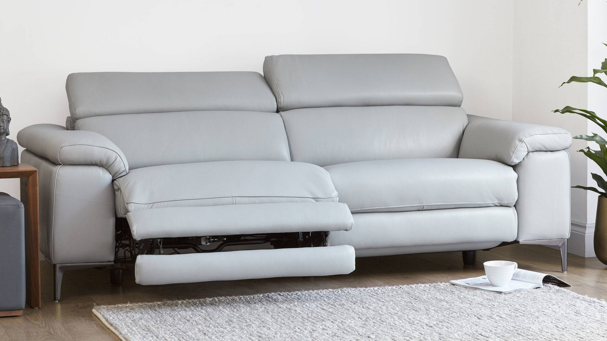 Affordable reclining sofa
