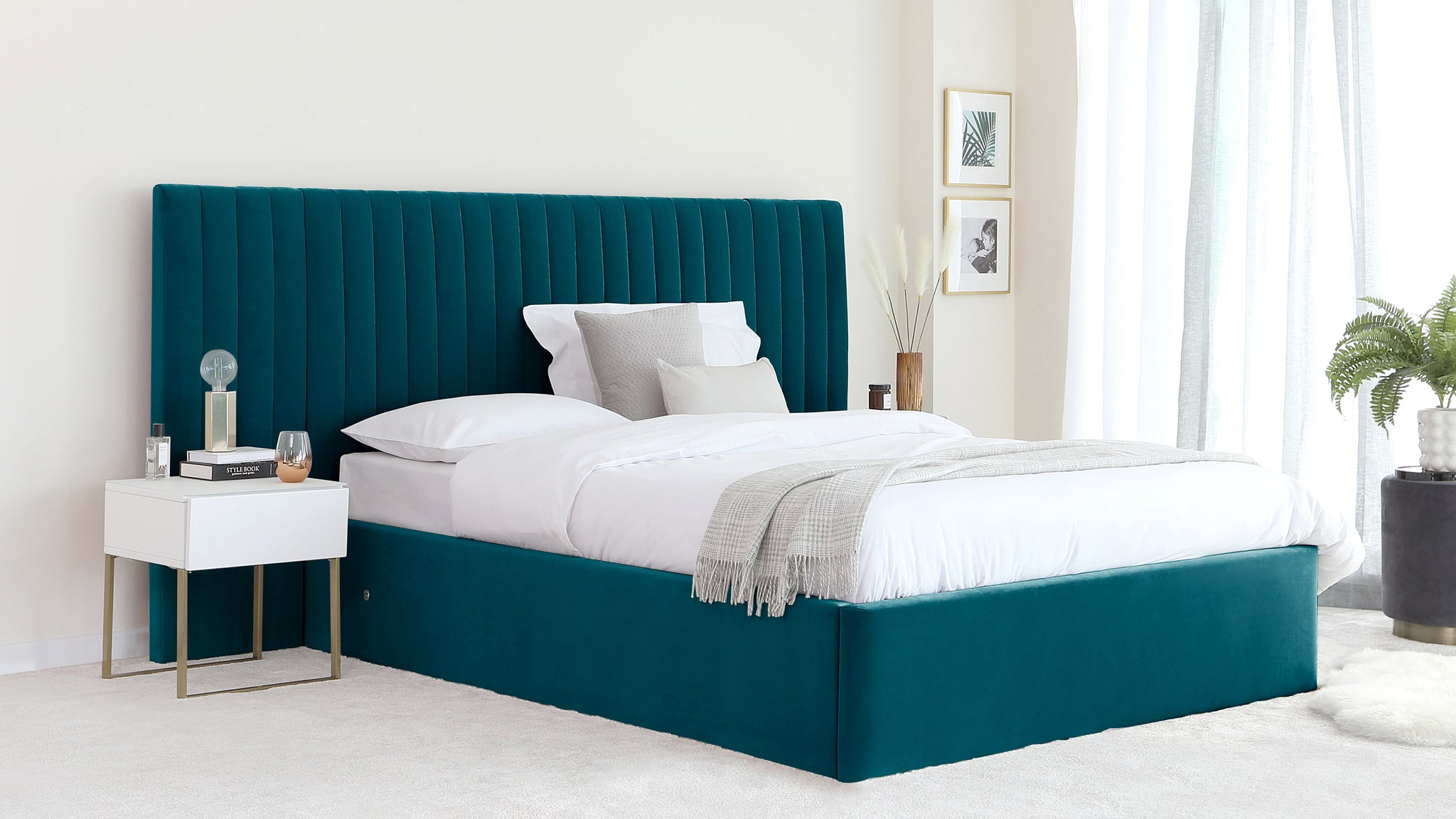 Picture of: King Size Beds Modern King Size Beds With Storage By Danetti