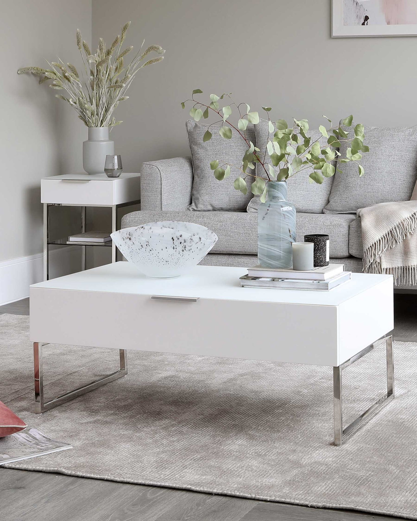 Aspen Matt White Coffee Table